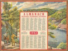 Almanach des Postes 1951