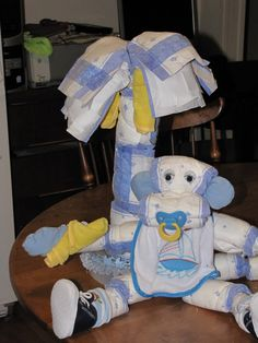 My Lil Ole Diaper Monkey..... and Banana Tree!!!! - OCCASIONS AND HOLIDAYS