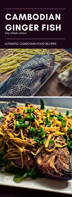 How to make Trey Chean Choun, one of Cambodia simple main meal. Try out this delicious Cambodian food recipe. (food and drink fish) Fish Recipes, Seafood Recipes, Asian Recipes, Cooking Recipes, Ethnic Recipes, Laos Recipes, Salmon Recipes, Dinner Recipes, Siem Reap