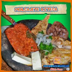 #PlatoPanza para dos personas con pechuga de pollo, arrachera, chorizo, queso panela, cebolletas, nopales, cobolla y cilantro con salsa borracha servico en mortero de pieda volcánica. www.lapanzaesprimero.com  #ComidaMexicana #CocinaMexMex #LaPanzaesPrimero