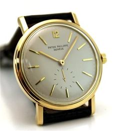 Time.Beautiful simplicity of a vintage Patek Phillipe