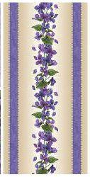 Arabella Violets Stripe