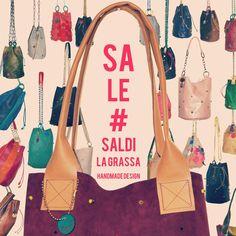 SALE!!! Until the 9th Oct. you can buy unique handmade bags with the 20% off using the discount code AUTUMN2016 Enjoy!  SCONTI!!! Fino al 9 ottobre c'è il 20% di sconto su tutte le borse LA GRASSA usando il codice AUTUMN2016 Approfittatene.😉  Slowfashion