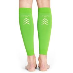 2c0e7072c9 Women's Insignia By Sigvaris Graduated Compression Calf Sleeves ($36) ❤  liked on Polyvore featuring activewear, activewear tops, lime, compression  ...