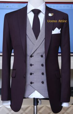 Get Customize mens suits for your special occasion, Slim fit gents suits with perfect fitting guranttee are available at Uomo Attire, We customize suits as per body shape with italian cut Mens 3 Piece Suits, Mens Casual Suits, Dress Suits For Men, Men Dress, Mens Boots Fashion, Big Men Fashion, Mens Fashion Suits, Purple Shirt Outfits, Blazer Outfits Men