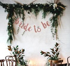 Bride To Be Banner, Rose Pink Glittery Bride to Be Banner, Bridal Shower Decorations, Bachelorette Party Decorations - bridal shower decorations Bridal Shower Backdrop, Wedding Shower Games, Bridal Shower Party, Bridal Shower Invitations, Shower Favors, Shower Gifts, Garden Bridal Showers, Chic Bridal Showers, Bridal Shower Rustic