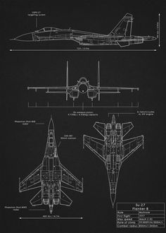 Su - 27 Flanker 💣 Fallow us for more ❤️ 👍 ° ° ° 📷 Displate
