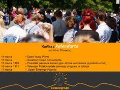 kartka z kalendarza (od 14 do 20 marca); więcej: www.concept4u.eu