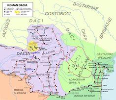 Dacie Romaine - entre 106 et 271 AD