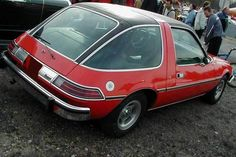 AMC Pacer -You may remember this car from the movie Waynes world. It is a 2 door hatchback that was built between 1975 and A total of cars were built, not bad for such an ugly car. We called it a 'fish bowl' with the bubble of glass all around. Jeep, American Motors, My Childhood Memories, Sweet Memories, Daihatsu, The Good Old Days, Retro, Back In The Day, Old Cars