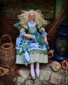 Куклы Тильды ручной работы. Ассоль...Жизнь у моря..... Одненко Виктория. Интернет-магазин Ярмарка Мастеров. Море, фея тильда