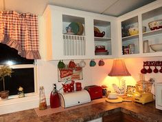 Teresa mobile home makeover in AL.  Blog: Magazine Your Home