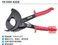 Envío gratis HS-520A 400mm2 Max trinquete trinquete cortador de cable de diseño de alemania cortador de alambre alicates, herramienta de mano, no cortar(China (Mainland))