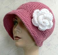 Crochet Flapper Hat