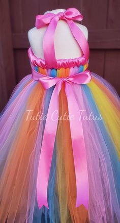 0e3dfd2780d37 Unicorn Rainbow Tutu Dress | alissa | Rainbow tutu, Christmas ...
