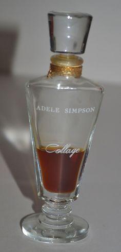 Adele Simpson Collage perfume 1 2 fl oz ...