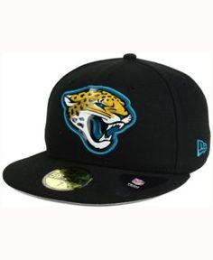 New Era Jacksonville Jaguars Nfl 2016 Beveled Team 59FIFTY Cap - Black 7 1/4