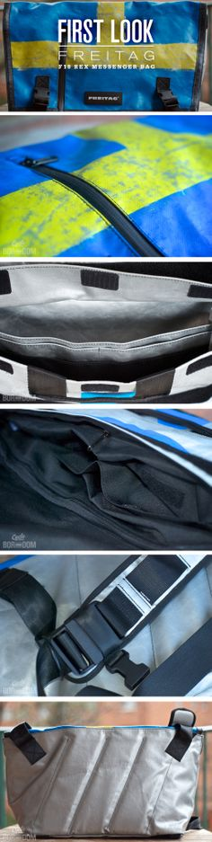 First Look: Freitag F18 Rex Messenger Bag // Meta: #messenger #bag #shoulder #Freitag