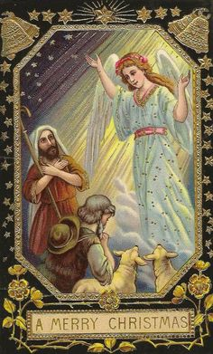 An angel of the Lord appeared to the shepherds to announce that the Savior had been born.