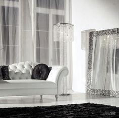 luxury black and white home decor | Black-White-Interior-Living-Room-Decorating-Cattelan-Italia