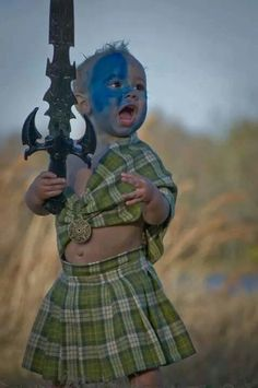 Halloween- OMG! I want a little boy dressed as William Wallace!!!!!