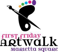 The Art Walk - Marietta Square