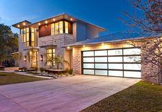 Cat Mountain Residence - modern - exterior - austin - Cornerstone Architects