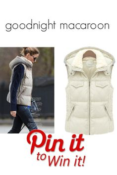 Pin To Win It! #GoodnightMacaroon #puffervest #oliviapalermo #celebritystyle #fashion #streetstyle #insulatedvest #puffercoat #streetfashion #giveaway #pintowin #win #coats #jackets #prize #sweepstakes #giftideas #entertowin