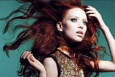 Fiery Beauties: 8 Famous Models with Red Hair  Age: 28 Nationality: French-Canadian Known for: Appearing in Guess, Chantal Thomass and Sonia Rykiel Intimates campaigns Fact: Judith speaks four languages