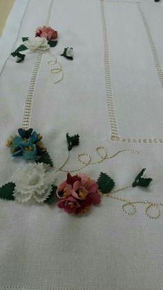 Neşe'nin gözdeleri Point Lace, Needle Lace, Lace Making, Silk Ribbon, Needlepoint, Embroidery Patterns, Bargello, Tatting, Needlework