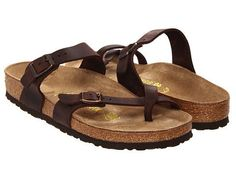Spring and summer demand a great sandal like the Mayari from Birkenstock! The Mayari sandal features a premium leather upper with adjustable buckle closures to ensure easy on-and-off wear and a secure