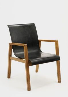 Alvar Aalto Armchair, 1931. This chair was originally designed for the veranda of the Paimio Sanatorium in Turku, Finland | VA Museum, London