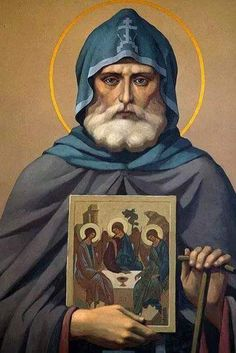 Saint Alexander of Svir Russian Icons, Russian Art, Roman Church, Avatar The Last Airbender Art, Best Icons, Byzantine Icons, Religious Icons, Orthodox Icons, Christian Art