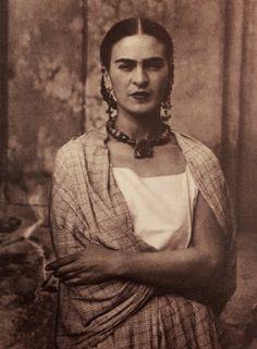 Frida at Coyoacan, 1944