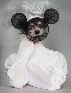 Lisa Cant in Magic In The Makeup shot by Irving Penn for Vogue