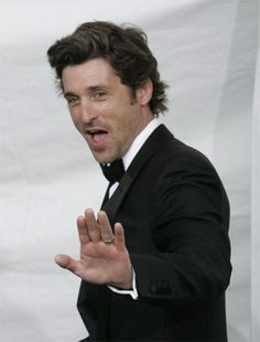Patrick Dempsey...STOP! In the name of love :)