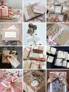 pinterest gift wrapping christmas | christmas gift wrapping | christmas «packaging»