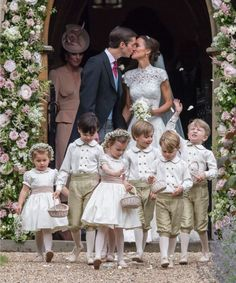 This Pippa Middleton wedding photo couldn't be more perfect