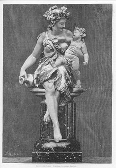 Nude Mother With Chubby Baby Bacchus 1893 Art Print - Diggit Victoria Chubby Babies, Bacchus, Wood Engraving, How To Antique Wood, Print Artist, Victoria, Nude, Statue, Art Prints