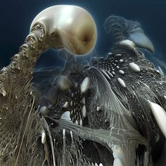 Hot 3D Fractals by Johan Andersson http://www.cruzine.com/2013/06/13/hot-3d-fractals-johan-andersson/