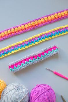 how to make crochet headbands