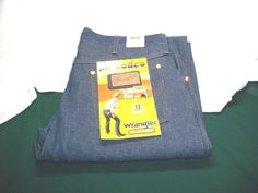 Mens Wrangler jeans NWT 13MZ Official Pro Rodeo Cowboy Cut Heavywt denim 38x36 #Wrangler #cowboycut