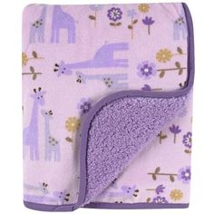 Carter's Printed Velour Sherpa Blanket, Purple Giraffe Safari (Discontinued by Manufacturer) Babies R Us, Baby Kids, Soft Baby Blankets, Purple Baby, Bitty Baby, Carters Baby, Baby Birthday, Baby Accessories, Our Baby