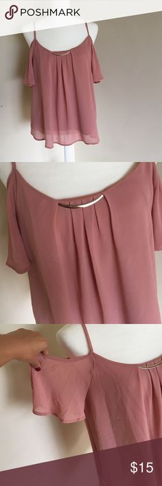Selling this Light pink top on Poshmark! My username is: yeramm. #shopmycloset #poshmark #fashion #shopping #style #forsale #Tops