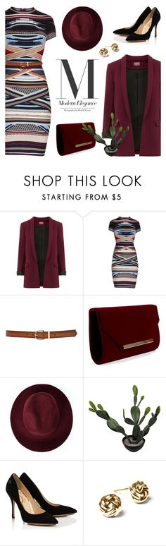 """Modern Elegance"" by lysianna ❤ liked on Polyvore featuring Hervé Léger, M&Co, Redopin, Abigail Ahern, modern, NYFW, Fall, autumn, falldresses and MyRunwayLookIs"
