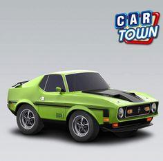 ¡Novedad: el Ford Mustang Mach 1 1971! Esta bestia de desempeño rápido es indispensable para los entusiastas de los muscle. ¡Agarra uno mientras puedes! Cuál es tu año/modelo favorito de los Mustangs?    27/11/2012