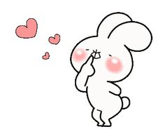 LINE Official Stickers - every day love UsakKuma 10 Example with GIF Animation Bugs Bunny, Cute Couple Cartoon, Cute Love Stories, Cute Love Gif, Dibujos Cute, Line Sticker, Custom Stickers, Mocha, Cute Couples
