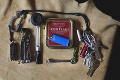September 2015 EDC Pocket Dump: http://ift.tt/1Oo4DO6 | #survival #preppers #gear From MoreThanJustSurviving.com