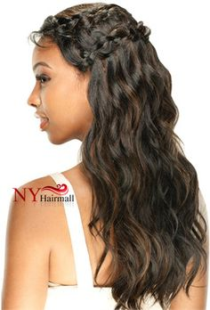 NEW GODDESS BRAID STYLE LACE FRONT WIG FROM MODEL MODEL  Model Model Braid Lace Front Wig - Softa (Goddess Braid Style)  http://nyhairmall.com/products/1496-model-model-braid-lace-front-wig-softa-goddess-braid-style.aspx