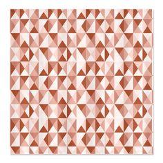 Abington Triangular Geometric Patte Shower Curtain